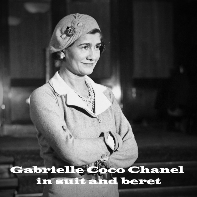 11 Gabrielle Coco Chanel in suit and beret - コピー.jpg