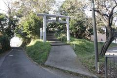 Mine Hakusan Shrine 峰白山神社 <横浜市磯子区峰町>